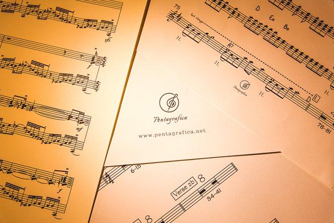Trascrizione musicale di un File Audio