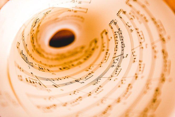 Trascrizione musicale di un file MIDI