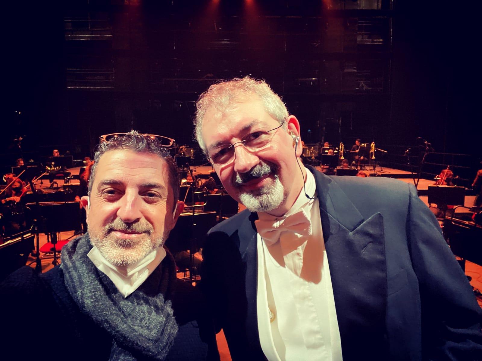 M° Danilo Minotti e Mario Dennetta - In questa storia che è la mia